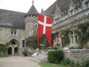 weekendophold på et autentisk slot i Frankrig